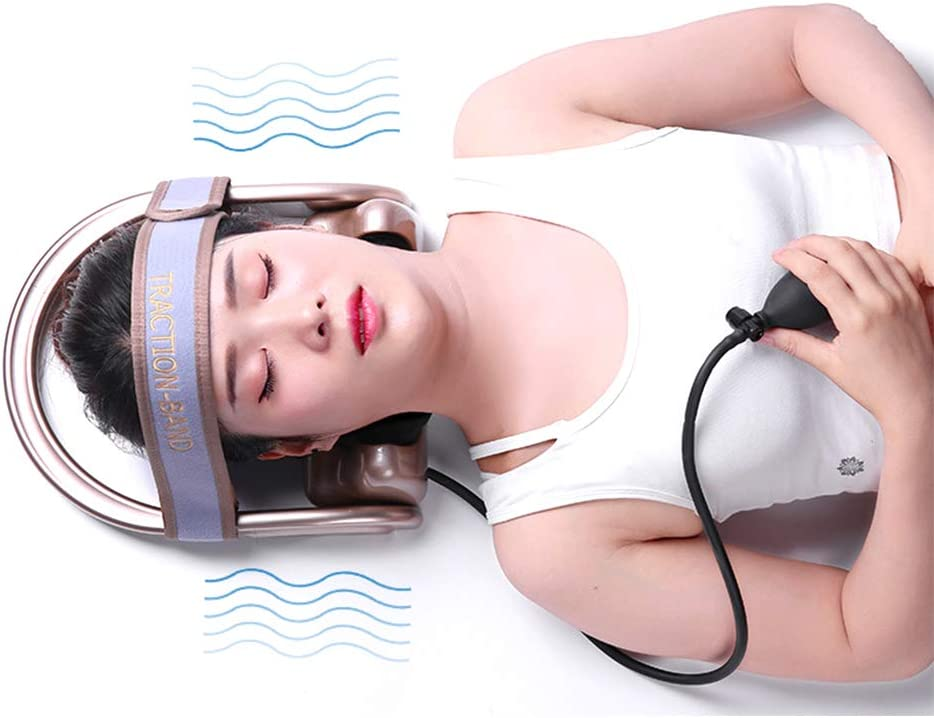 WOOLALA Cervical Department New York Mall store Neck Traction Pain Device Relief Chronic