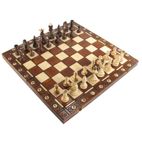 16' Polish Senator Folding Chess Set