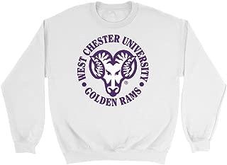 Official NCAA West Chester University Golden Rams - PPWCU05 Mens/Womens Boyfriend Sweatshirt