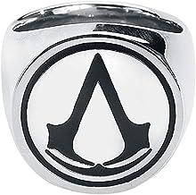 Assassin's Creed Logo Anillo Plateado M