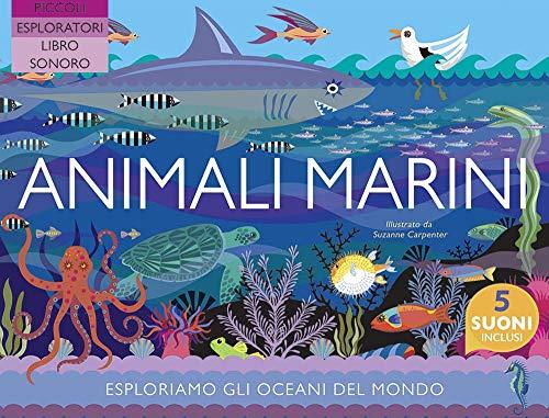 Animali marini. Ediz. a colori (Giovani esploratori) (Tapa dura)