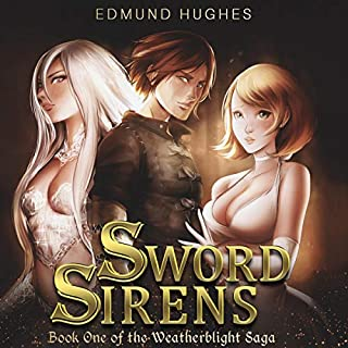 Sword Sirens audiobook cover art