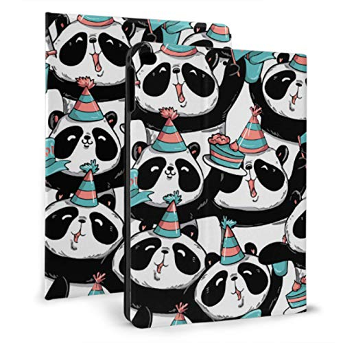 Funda Protectora para iPad para niños Panda Gigante Delicious Cake Funda para iPad para niños para iPad Mini 4 / Mini 5/2018 6th / 2017 5th / Air/Air 2 con Auto Wake/Sleep Magnetic New I