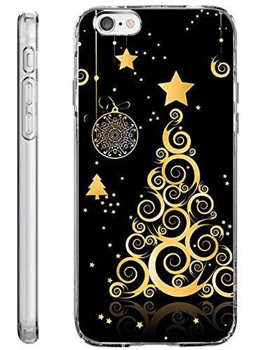 iPhone 6S Plus Case Slim Fit 5.5 Inch Vintage Christmas Pattern