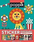 Sticker Poster Lehriech - [POPPIK, Farben und Formen - CIRCUS] - 750 Sticker + 1 Poster - (Kinder bis 3-7 Jahre) Kreativ Lernspiel und Montessori inspiriert - Kunsthandwerk, aufkleber malen