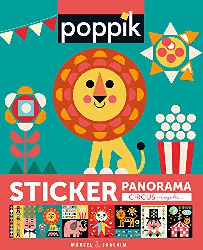 Sticker Poster Lehriech - [POPPIK, Farben und Formen - CIRCUS] - 750 Sticker + 1 Poster - (Kinder bis 3-7 Jahre) Kreativ Lernspiel und Montessori ... - Kunsthandwerk, aufkleber malen (ACTIVITES)