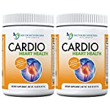 Cardio Heart Health-L-Arginine Powder Supplement-5000mg Plus 1000mg L-Citrulline-with Minerals, and Antioxidants Vitamin C & E-Total Cardiovascular System Health (Pack of 2)