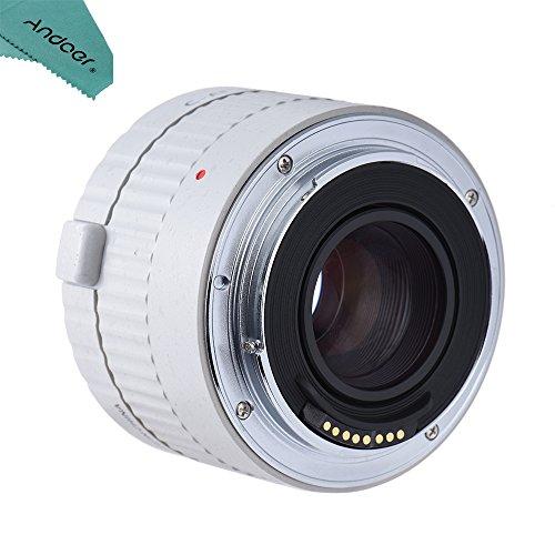Viltrox c-af 2 x AF messa a fuoco automatica lente Teleconverter Extender ingrandimento Compatibile con Canon EF 7D 6D 7DII 80D 5D2 5D3 5DS 5DSR 1DMark i/II/III/IV 1Ds Mark i/II/III 1DX DSLR