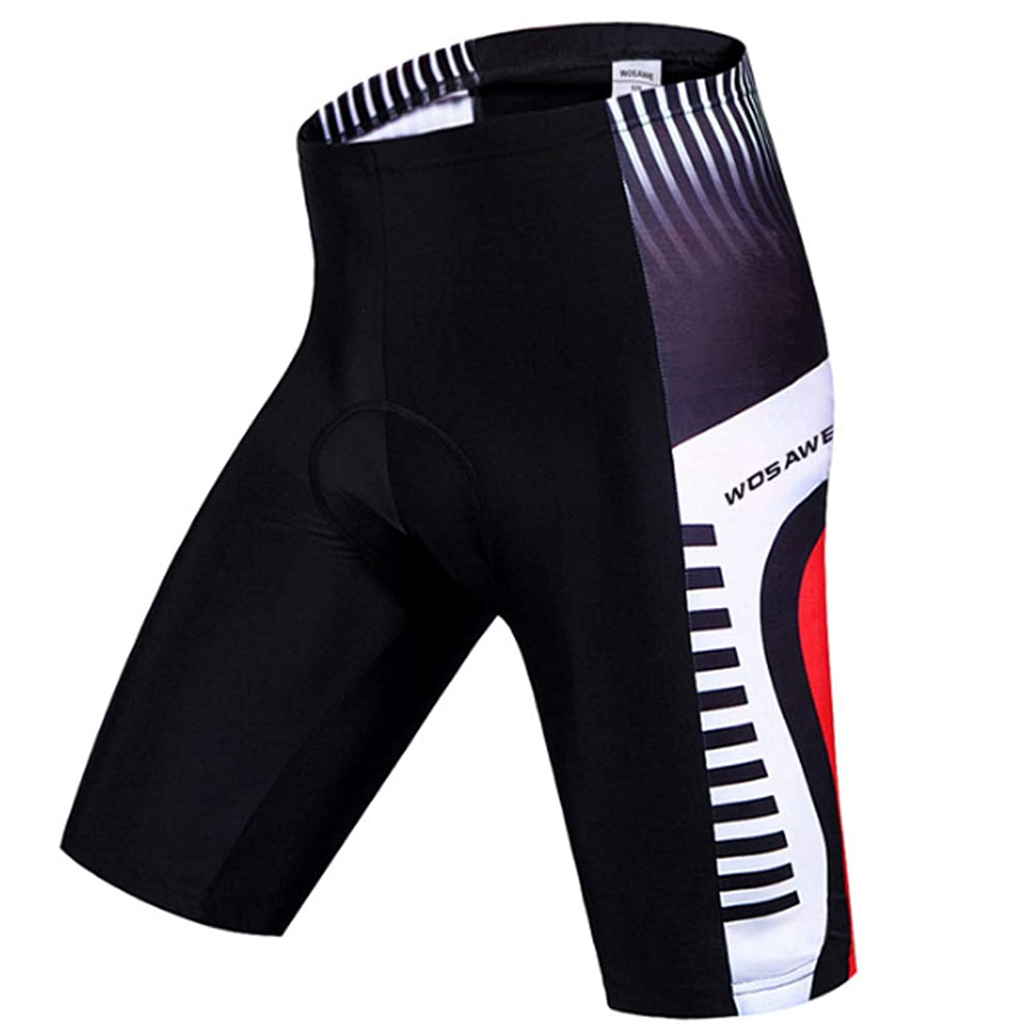 HBRT Men's Cycling Shorts Padded, Bicycle Riding Pants, Bike Biking Clothes,Summer Cycle Wear Tights for Running Riding Basketball