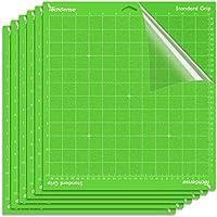 6-Pack TechSense Standard Grip Cutting Mat for Cricut Maker