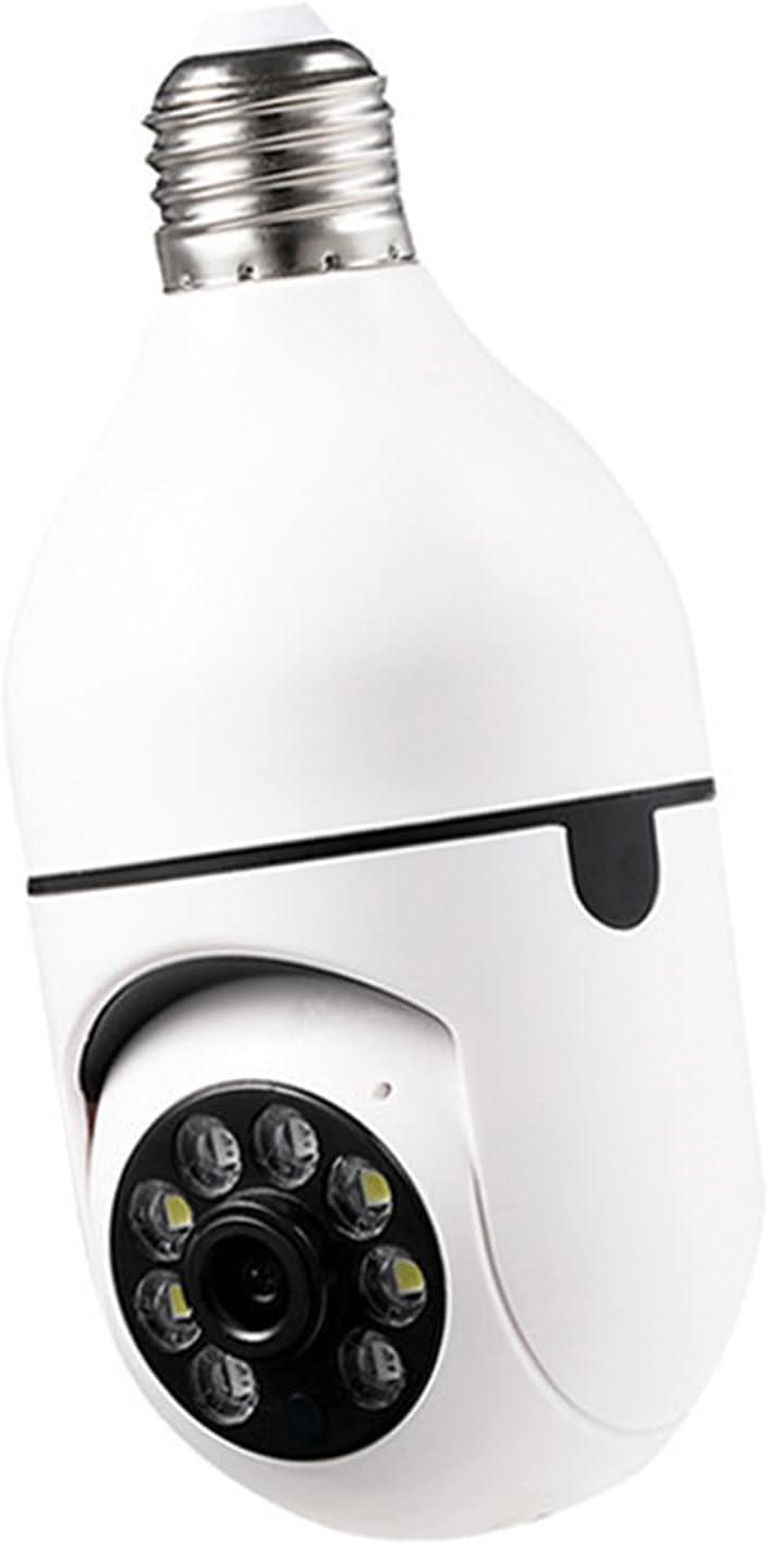 Kesoto Indoor WiFi Camera Light Bulb IP Security Camera Wireless Baby Monitor CCTV