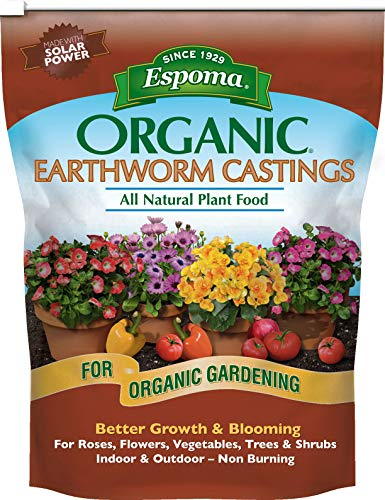 Espoma 839293 Ec4 Organic Earthworm Castings, 4 Quart