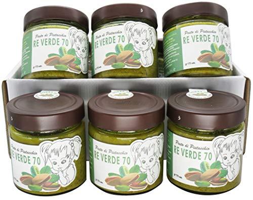 RE VERDE Pesto di Pistacchio 6 x 170 grammi