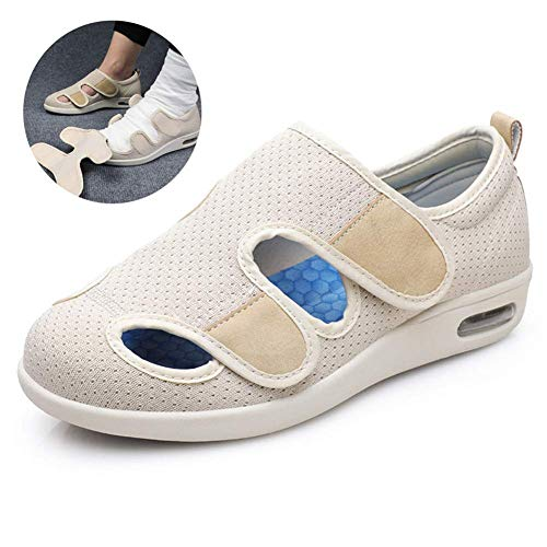 Osteoarthritis Shoes Extra Wide Diabetes Edema Slippers s Orthopaedic Footwear with TPU Air Cushion Multicolor