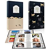 Álbum Fotos Polaroid Mini Álbum de Fotos de Cámara Polaroid de Gran Capacidad de 84 Piezas para Tarjetas de Visita, Tarjetas Bancarias, Boletos de Cine, Cupones, Paquete de 2 (2 * 3 Pulgadas)