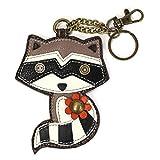 Animal Faux Leather Key-Chain (Raccoon) by Chala