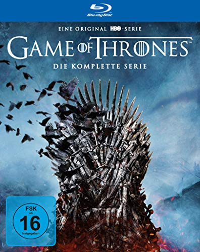 Game of Thrones: Die komplette Serie (Staffel 1-8 im Digipack) [Blu-ray]