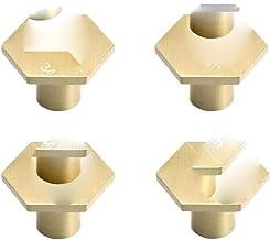Messing Dressoir Knoppen Lade Trekt Handvatten Kast Deurknop Handvat Antieke Rustieke Keuken Hardware Pull