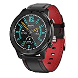 XYZK 2021 New Men's DT78 Smart Watch IP68 Pantalla Táctil Completa Impermeable Smart Watch Adecuado para Android iOS Teléfono Móvil Sports Fitness Tracker,D