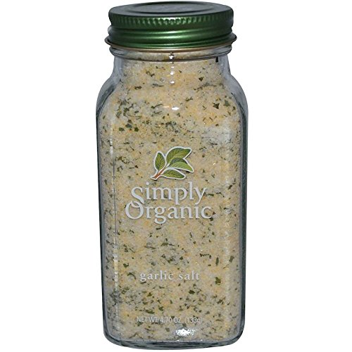 Simply Organic (ガーリックソルト) [並行輸入品]
