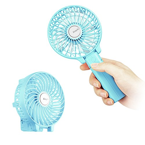 EasyAcc Handheld Electric USB Fans Mini Portable Outdoor Fan with...