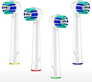 Canyso Universal Replacement Brush Heads Compatible With Oral B Electric Toothbrush 4 Pack of Precision Clean Brush Heads. Soft Bristle for a Superior and Gentle Clean
