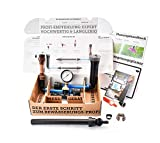 Test-Set Bewässerung Messgerät Druck & Durchfluss Hunter MP-Rotator Tropfrohr Blu-Lock Schnellverbinder
