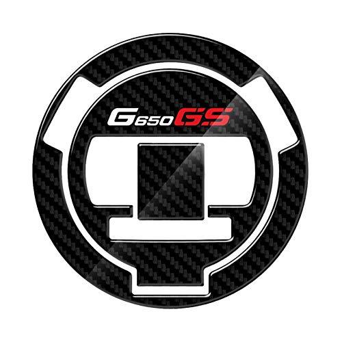 Bazutiwns Cappellino del cappuccio del tanny del motociclo Custodia del carbonio Adesivo Custodia protettiva del carburante for BMW G650GS G650 GS 2008 HSLL