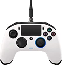 NACON Revolution Pro Controller V2 [Wired] Gamepad PS4/PC Playstation 4 Esports Fighting Customisable - WHITE
