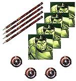 Procos 84831 Stationary Pack Avengers Multiheroes, 12 teilig