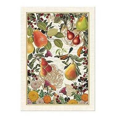 Michel Design Works Golden Pear Cotton Kitchen Towel, Orange