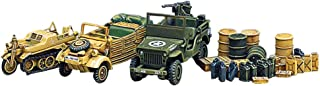 Academy Light Vehicles of Allied And Axis During WWII Model Kit