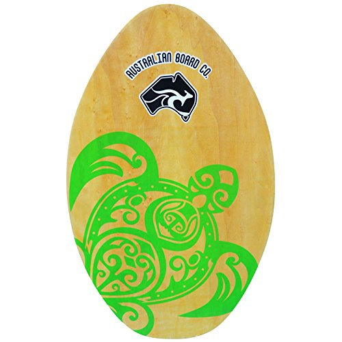 Circle One - Tabla de Skimboard Unisex, diseño de Tortuga, 76,2 cm, Color Natural