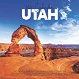 """Utah 2022 Calendar: 12-month Calendar - Square Small Gorgeous Calendar 7x7"""" for planners with large grid for note"""