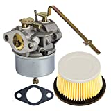 HIFROM Carburetor Carb with Gasket Replacement for Tecumseh 631918 HS40 4HP HS50 5HP Engine with Air Filter Replacement for 30727 30604
