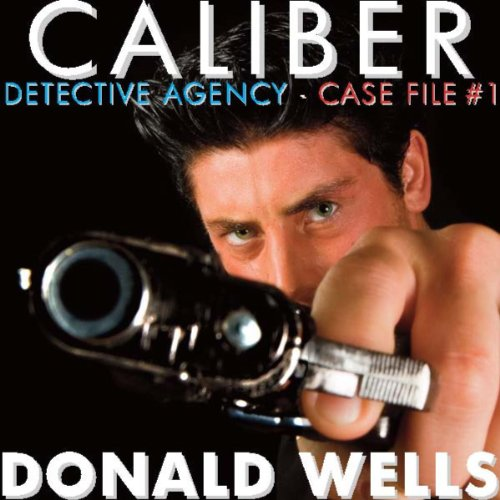 Caliber Detective Agency  audiobook cover art