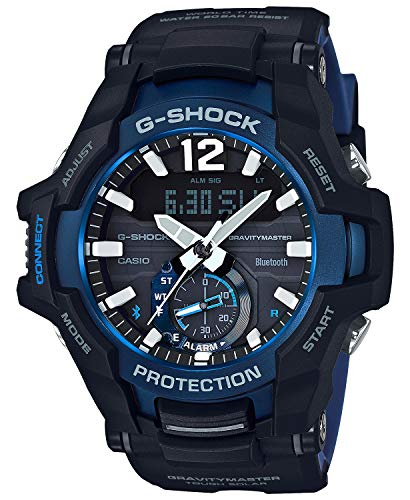 Men's Casio G-Shock Master of G Gravity Master Aviation Concept Watch GRB100-1A2 Change Time Casio G-shock Watch
