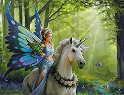 Canvas Wall Plaque Anne Stokes