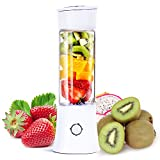 Power Of Nature Mini Blender, Portable Smoothie Blender avec 480ml pour Sport et Voyage, Sans BPA, Smoothie Mixeur 6 Lames en Acier Inoxydable, pour Préparer des Smoothies, Jus de Fruits et Légumes