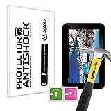Protector de Pantalla Anti-Shock Anti-Golpe Anti-arañazos Compatible con Tablet Storex eZee Tab 7D14-S
