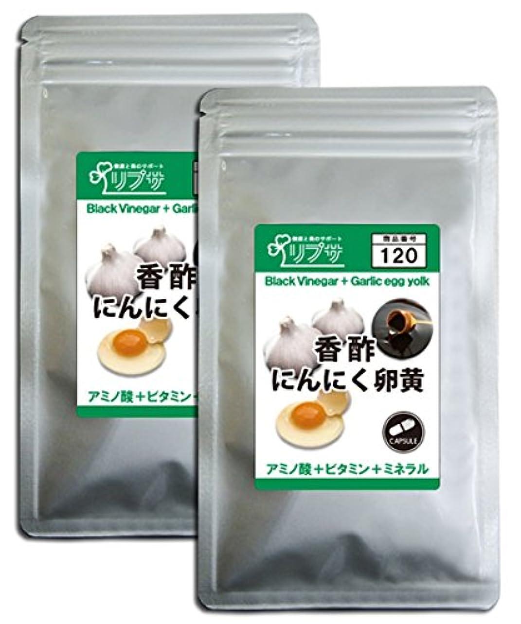 間欠おとなしいの慈悲で香酢にんにく卵黄 約3か月分×2袋 C-120-2