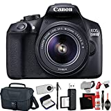 Canon EOS 1300D / Rebel T6 DSLR Camera with Extra Accessory Bundle (Renewed)