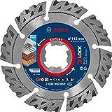Bosch Professional 1 x Discos de corte de diamante Expert MultiMaterial X-LOCK, para Hormigón, 115 mm, Accesorios Amoladora pequeña