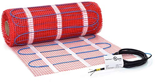 20 sqft HeatTech 120V Electric Tile Radiant Floor Heating Mat -