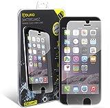 iPhone 6 Plus / 6S Plus Tempered Glass Screen Protector - Aduro Shatterguardz Anti-Scratch, Anti-Fingerprint Coating, Ultra-Sensitive Touch Tech for Apple iPhone 6 Plus / 6S Plus
