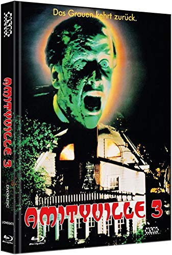 Amityville 3 - Mediabook - Cover C - Limited Collector's Edition  (+ DVD) [Blu-ray]