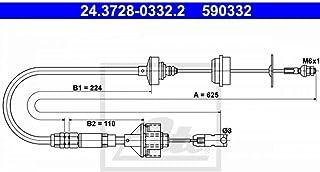 ATE 24372803322 C/âble de commande dembrayage