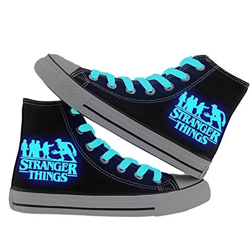 Guarnición de comodidad acogedor Ancho Zapatillas De Las Señoras Zapatillas de montaje EE Azul Grande
