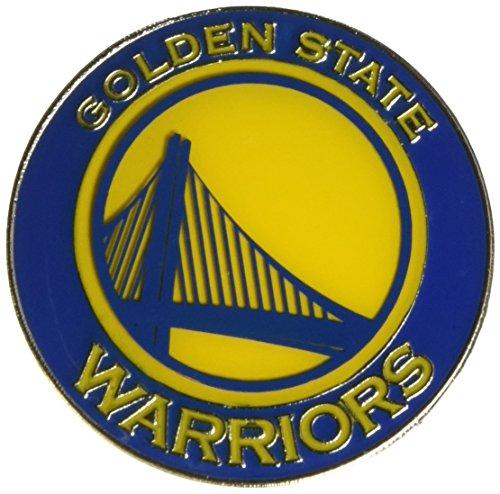 aminco NBA Golden State Warriors Team Logo Pin, team color (NBA-PN-001-23)