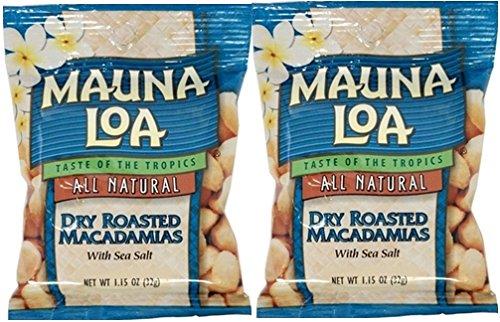 MAUNALOA(マウナロア) マカデミアナッツ Sサイズ 32g【2個】【メール便】 (ドライロースト【2個】)